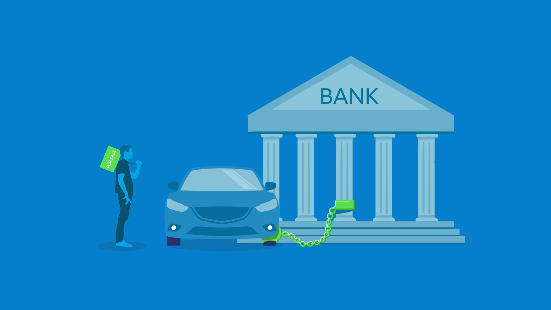 How to Sell My Car Today With Bank Loan?
